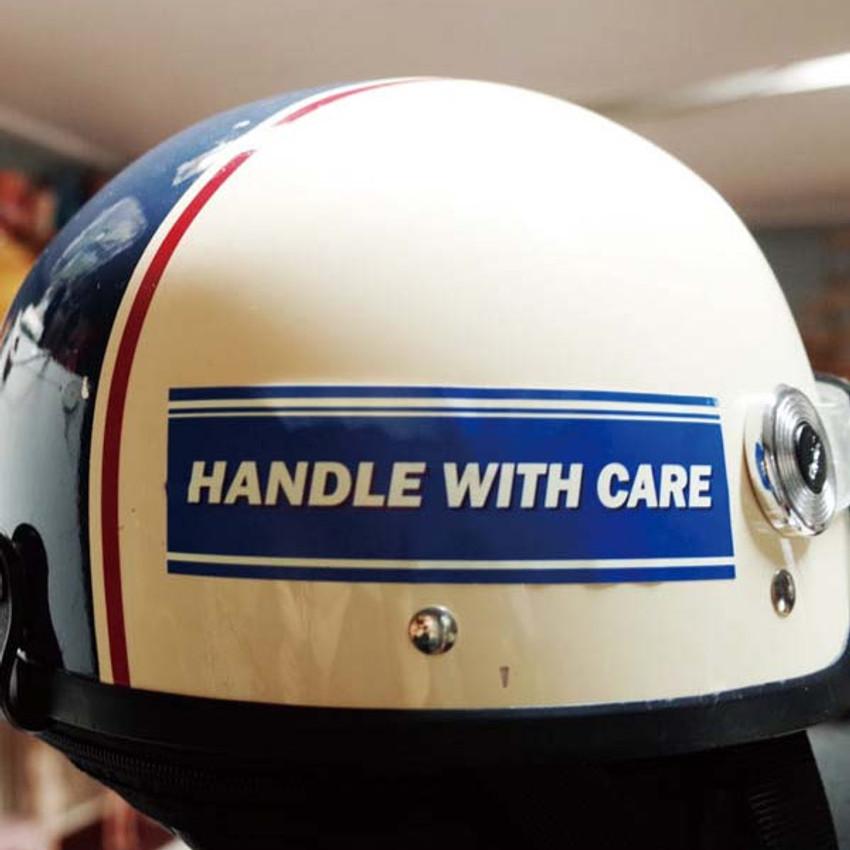 Handle with care - Decorative multi message sticker set