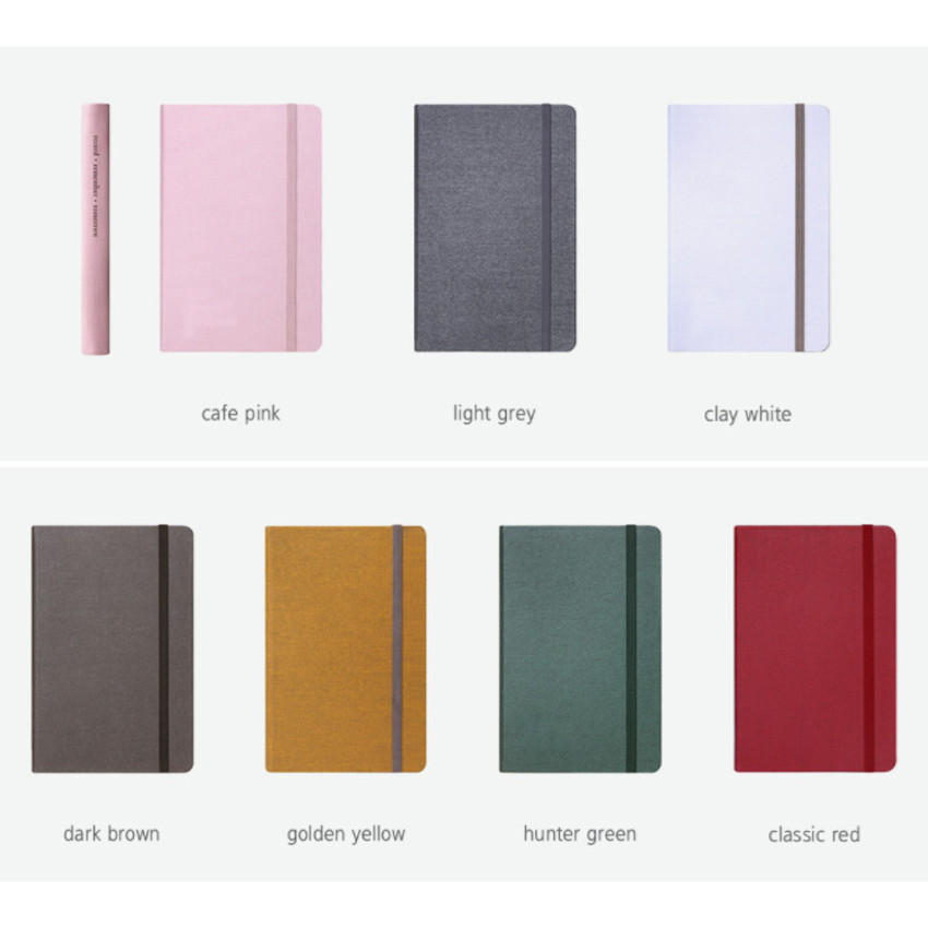 Colors of Making memory hardcover medium lined notebook