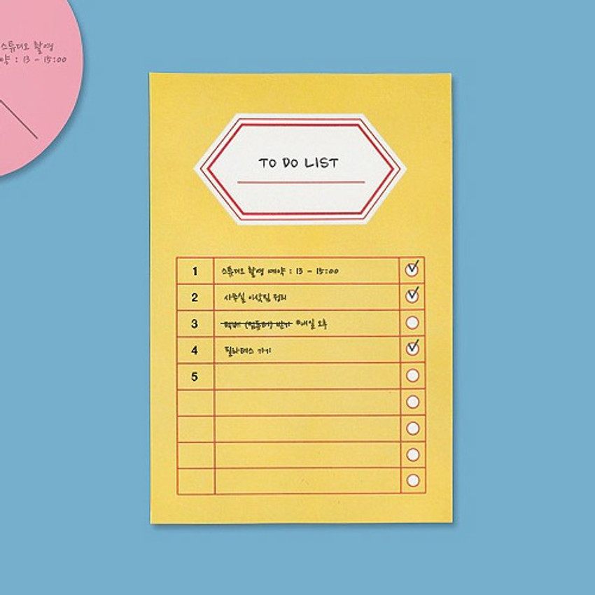 Yellow- BNTP Title sticky it memo note pad
