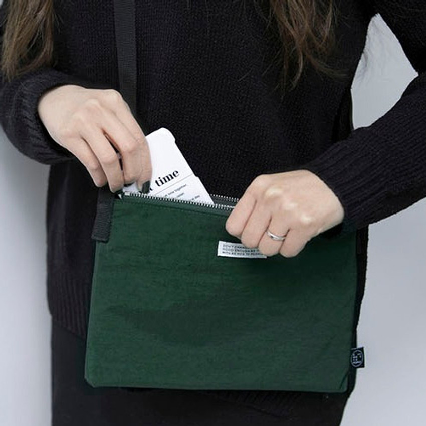 Green - BNTP Washer daily small crossbody bag