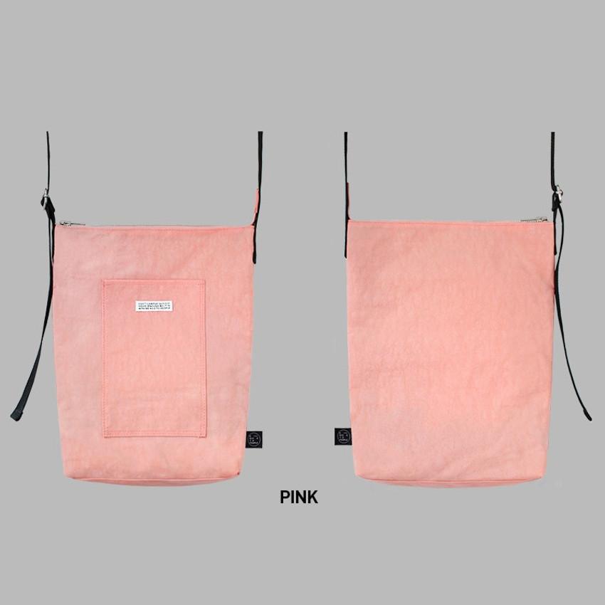 Pink - BNTP Washer daily medium crossbody bag