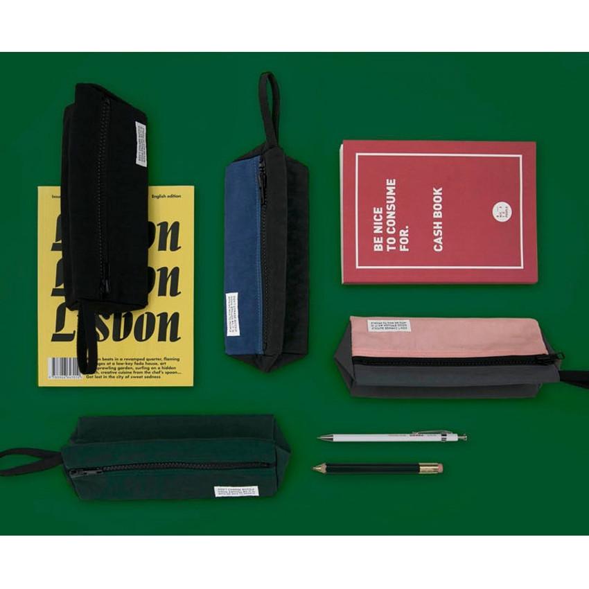 BNTP Washer long zipper pouch pencil case