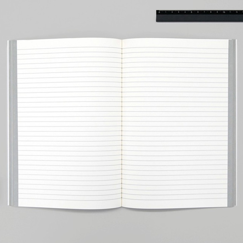Lined pages - BNTP Be nice to write shape lined notebook