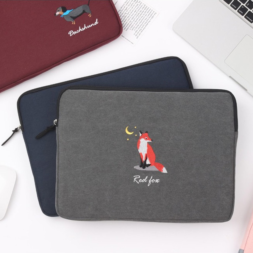 Tailorbird embroidery 15 inches laptop case