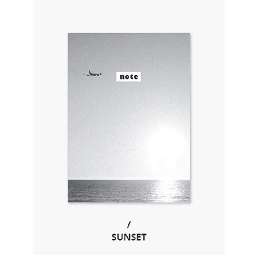 Sunset - Photograph mini small lined notebook