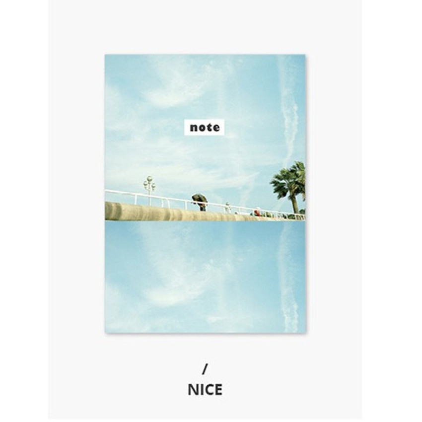 Nice - Photograph mini small lined notebook