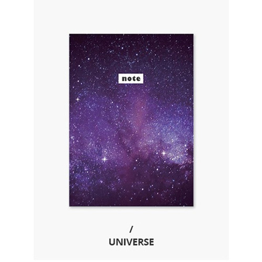 Universe - Photograph mini small lined notebook