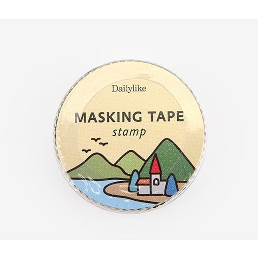 Package for Landscape deco single stamp masking tape