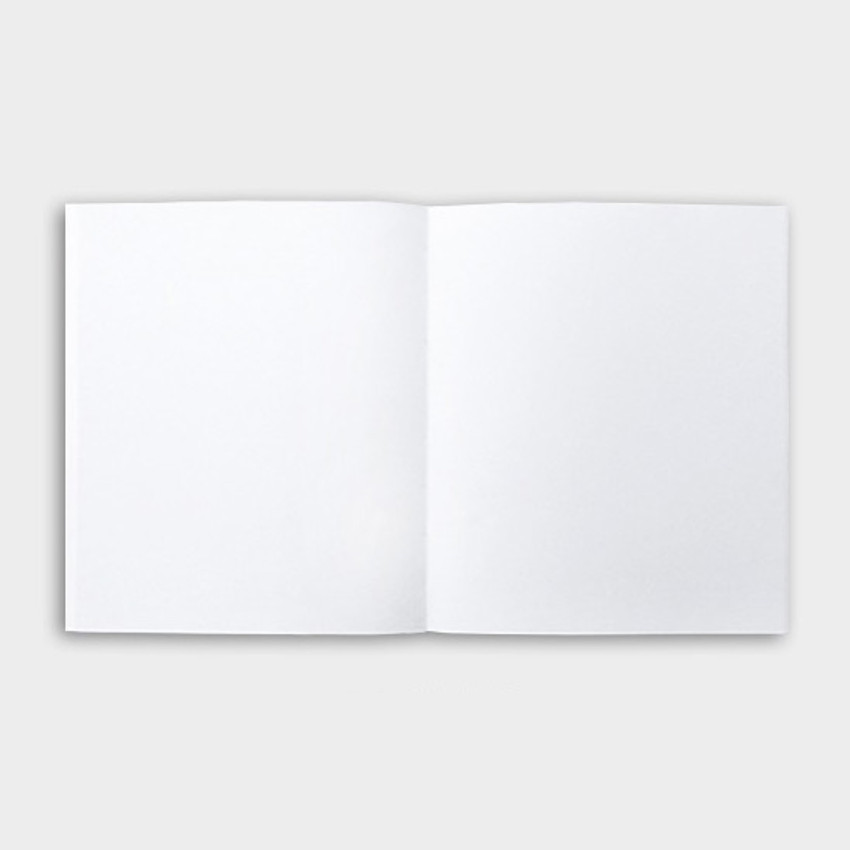 Blank page - Seeso Idee plain drawing notebook