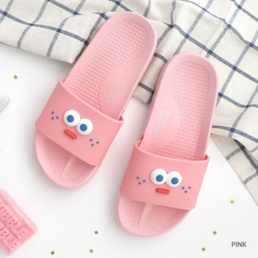 Pink - ROMANE Brunch brother popeye slide sandal