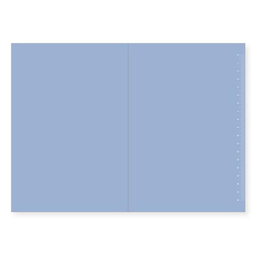 Plain page (Blue)