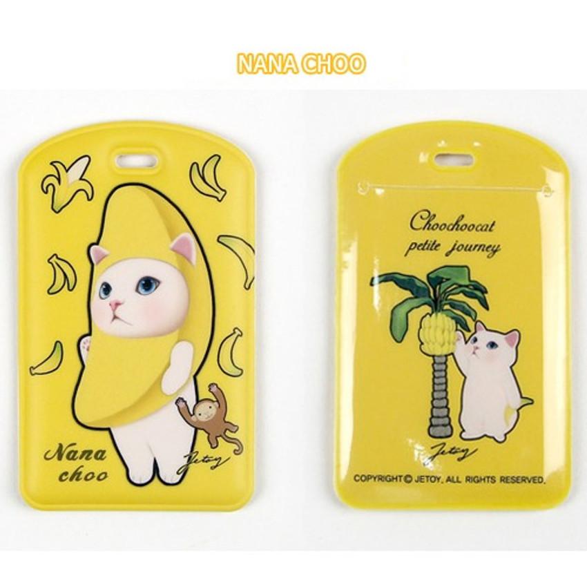 Nana choo - Jetoy Choo Choo cat travel luggage name tag ver2