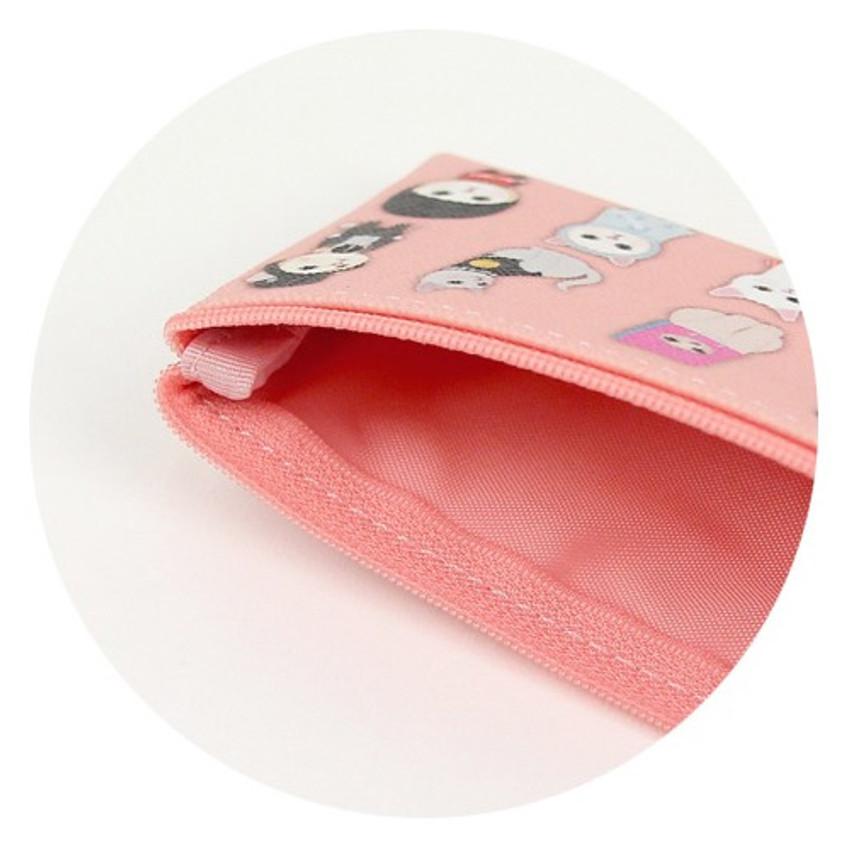 Jetoy Choo Choo cat zipper slim pouch - costume