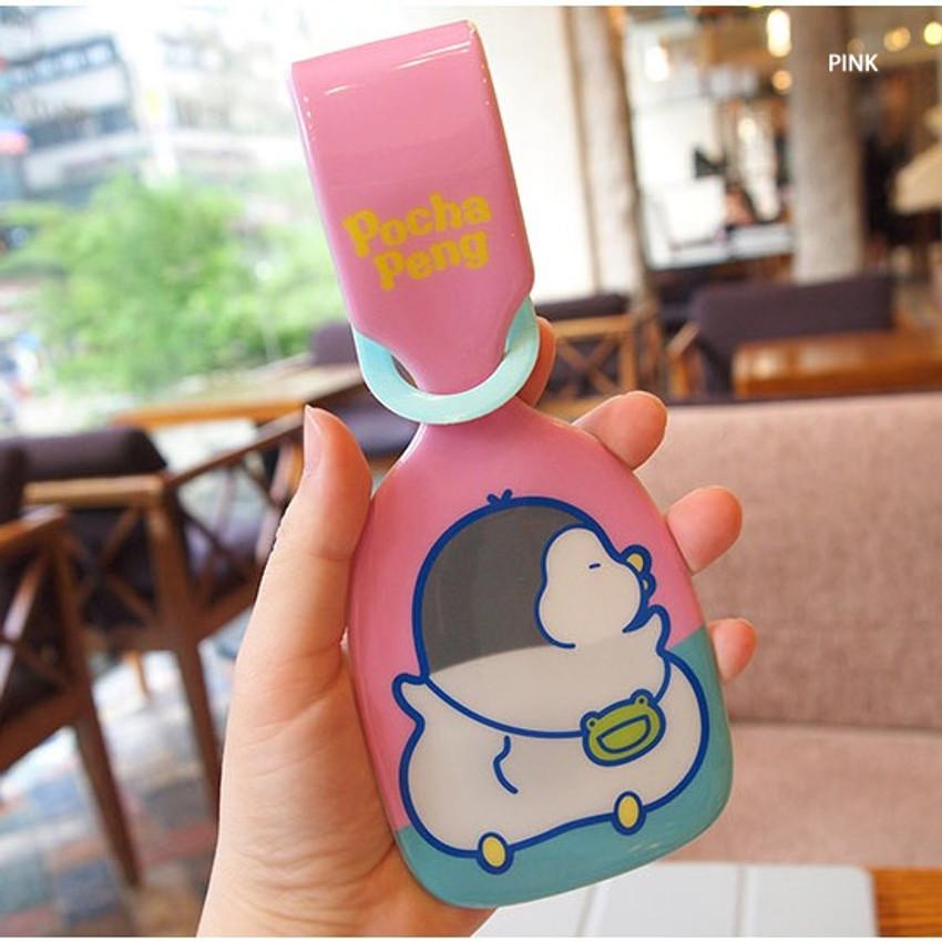 Pink - N.IVY Pochapeng travel luggage name tag