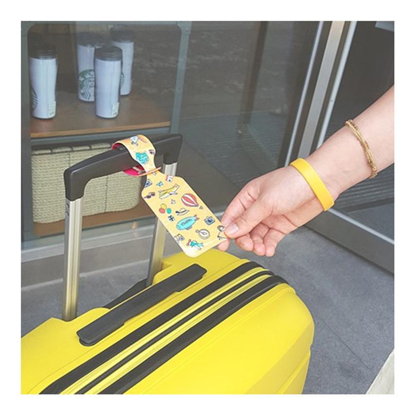 N.IVY Buri go now travel luggage name tag