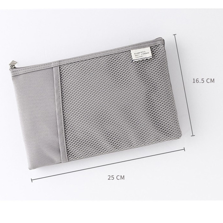 Size - Livework A low hill basic mesh pocket daily pouch