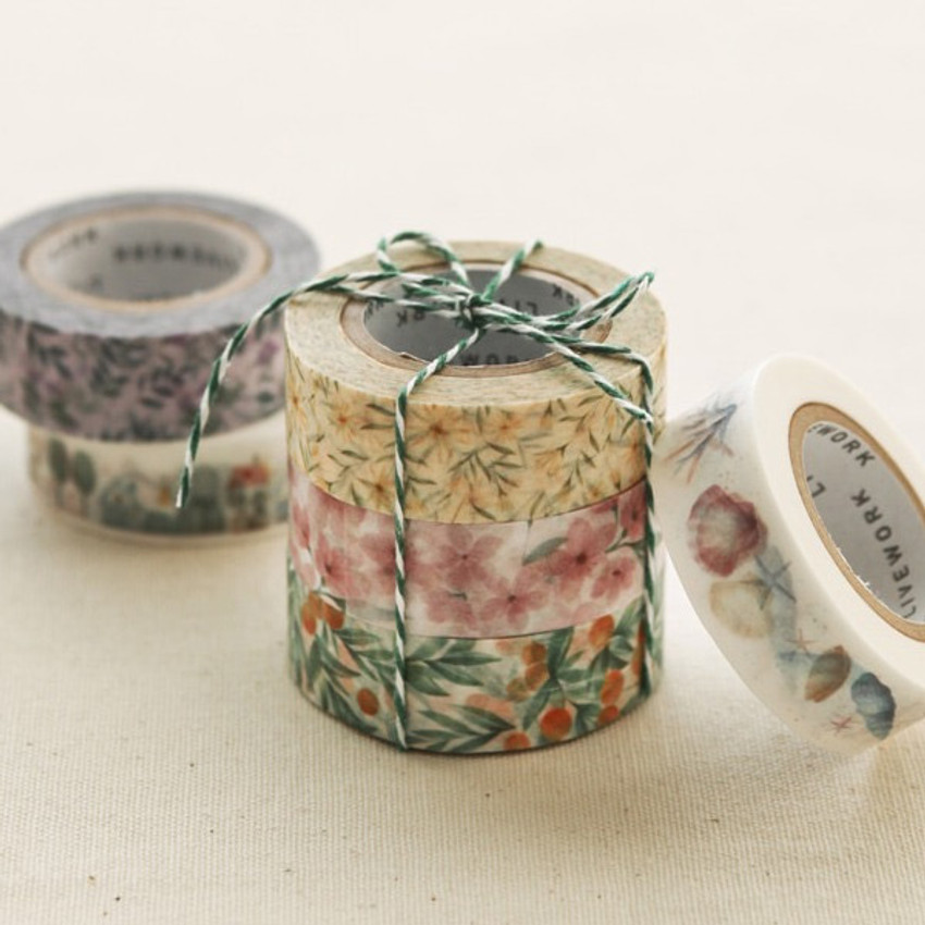 Livework Proust pattern single deco masking tape
