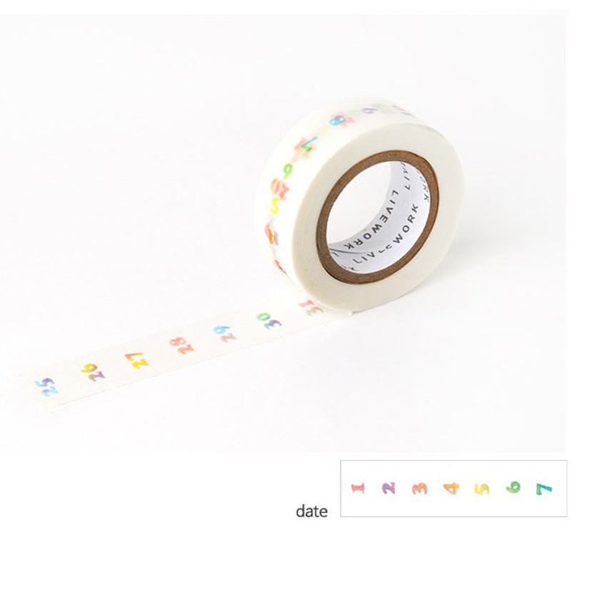 Date - Livework My universe single deco masking tape