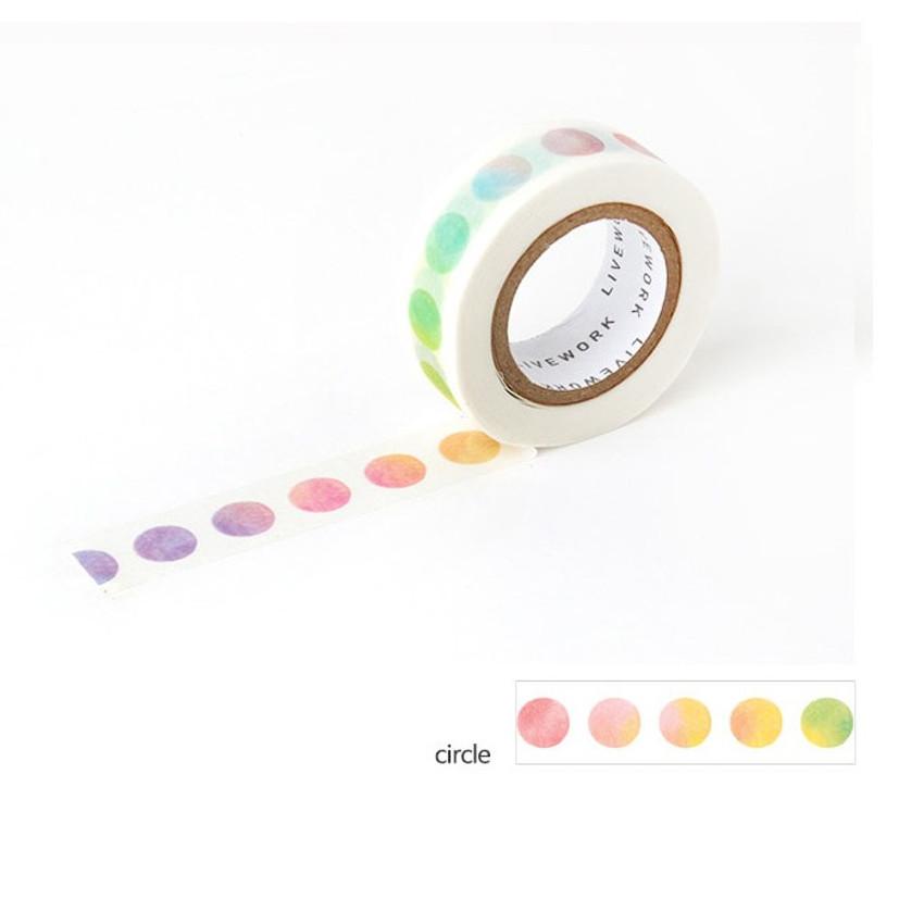 Circle - Livework My universe single deco masking tape