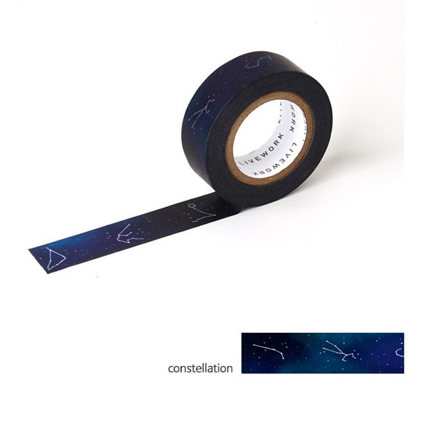 Constellation - Livework My universe single deco masking tape