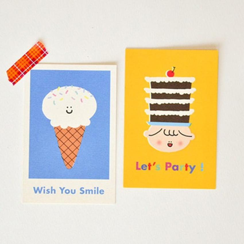 Jam studio Jam birthday card with envelope ver2