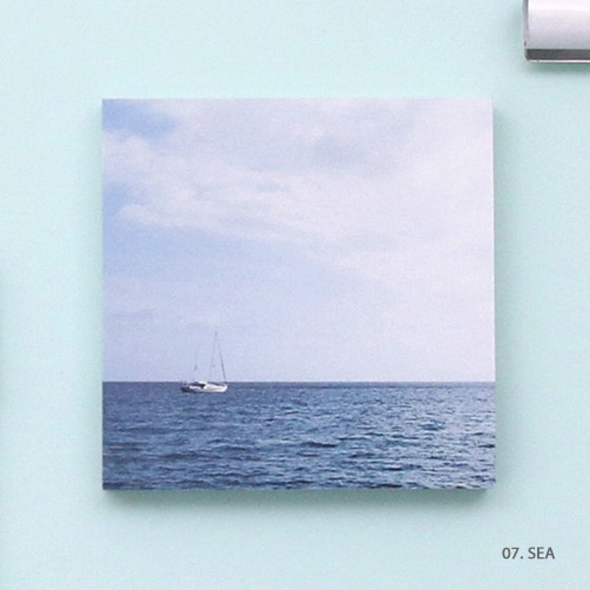 Sea - But today memo notepad