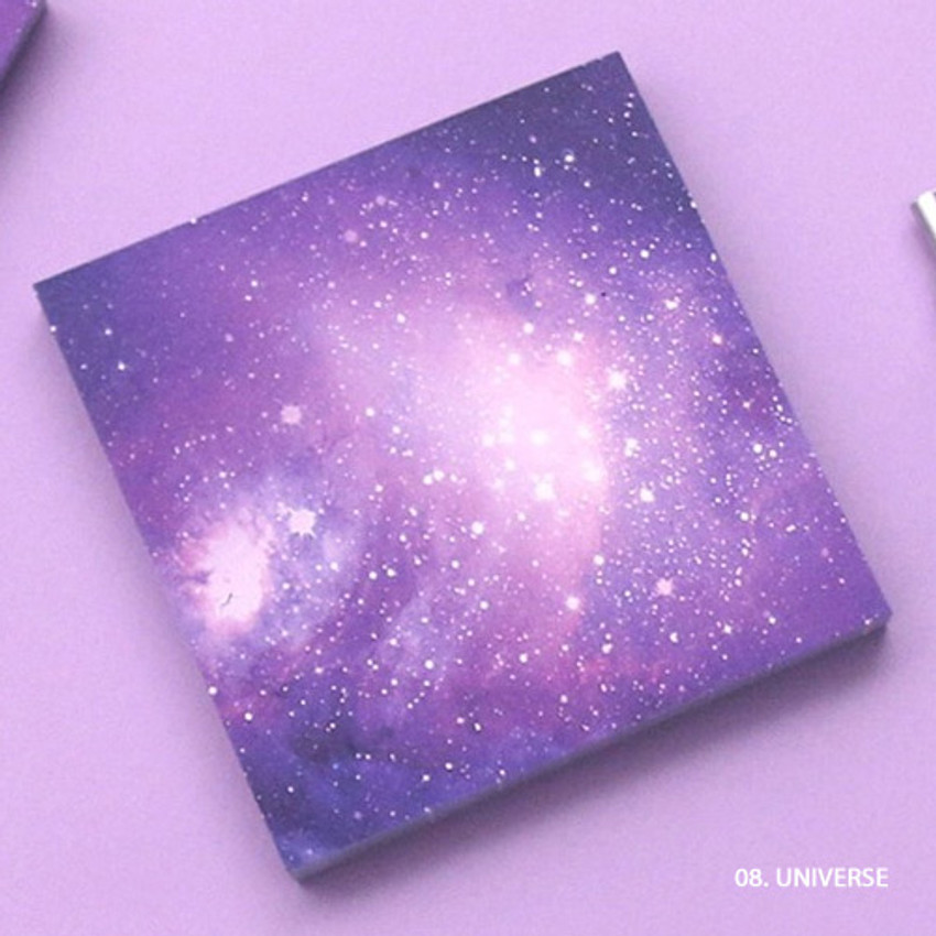 Universe - But today memo notepad
