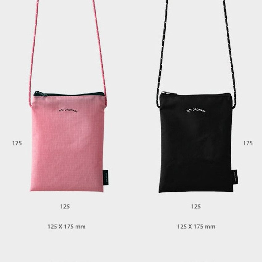 Colors of Not ordinary travel small crossbody bag