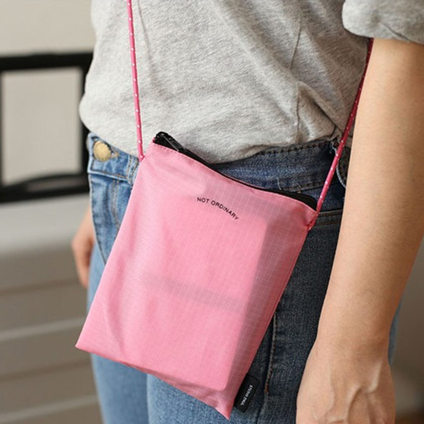 Pink - Not ordinary travel small crossbody bag