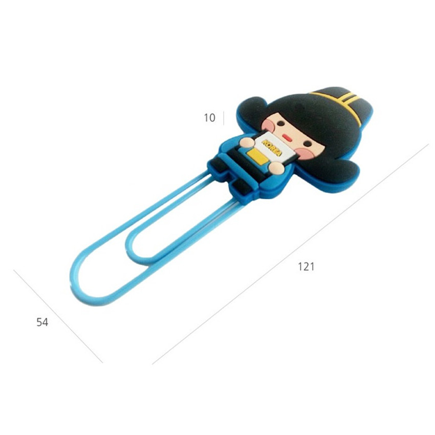 Size of Korean traditional family big paper clip