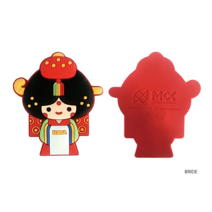 Bride - Korean traditional family PVC magnet