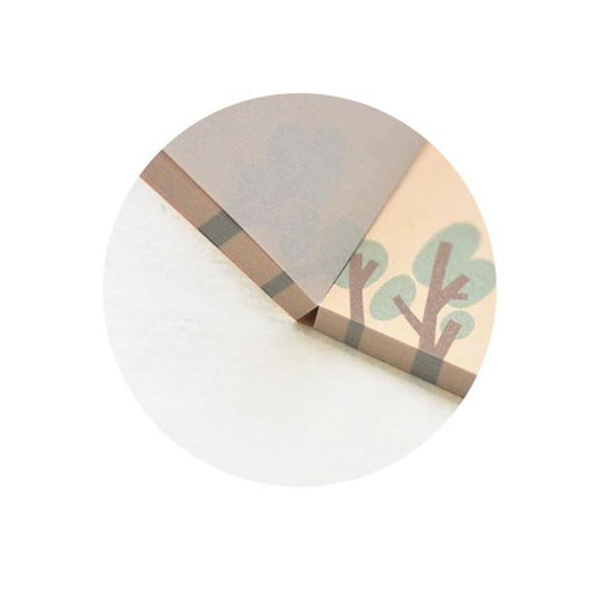 100 sheets - Jam studio Barobaro memo pad