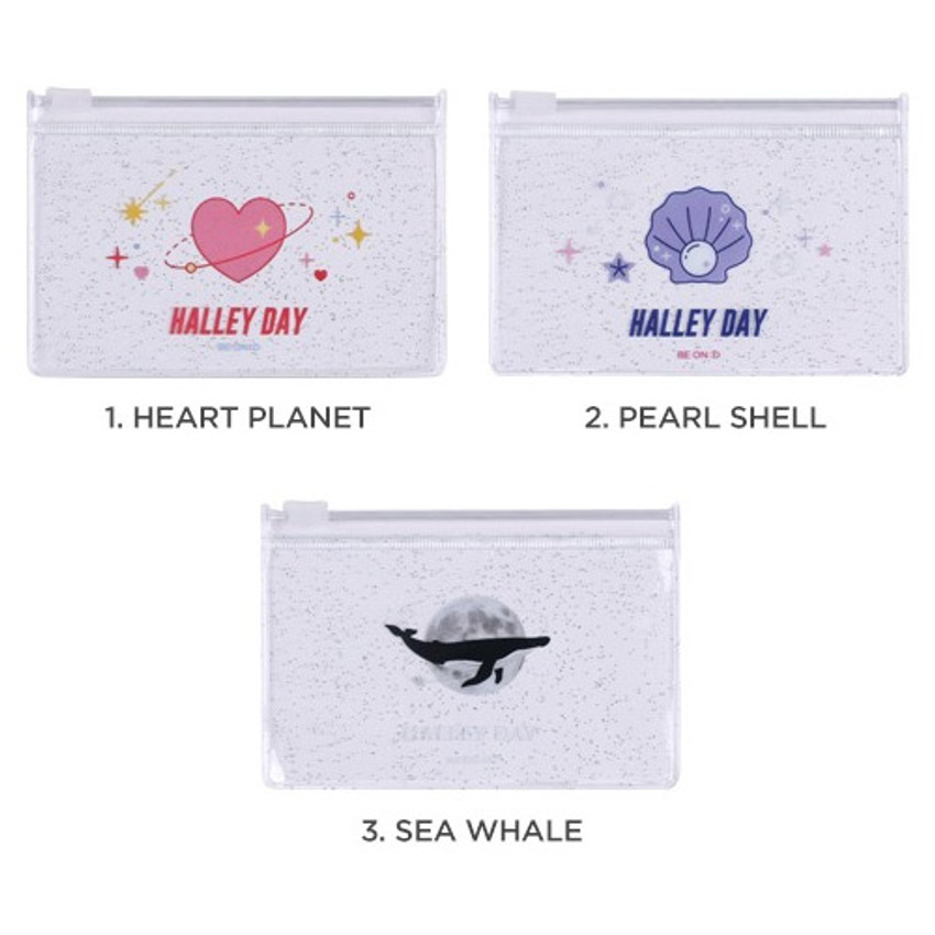 Option - After The Rain Halley day clear zip lock small pouch