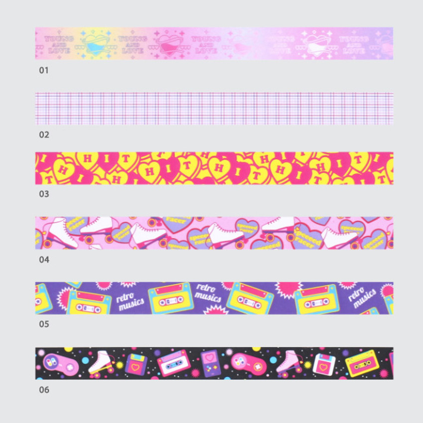 Option - After The Rain Twinkle youth club single deco masking tape