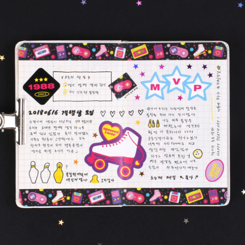 After The Rain Twinkle youth club single deco masking tape