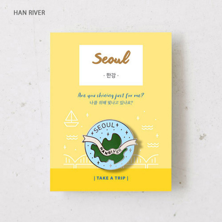 Han river - gyou Take a trip Seoul badge
