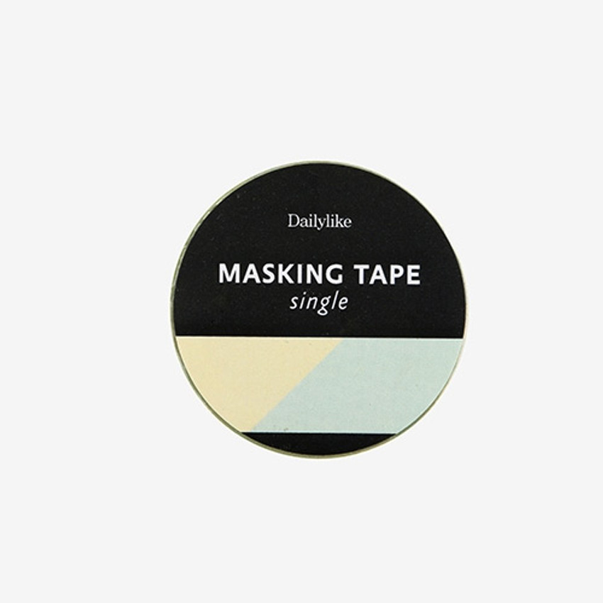 "Dailylike Deco 0.59""X11yd single masking tape - Simple oblique 2"