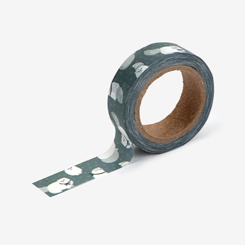 "Dailylike Deco 0.59""X11yd single masking tape - Persian cat"