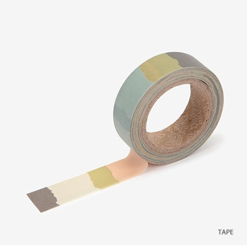 Tape - Dailylike Memo deco masking tape set of 4