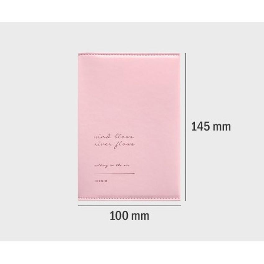 Size - Iconic Slit passport cover case holder