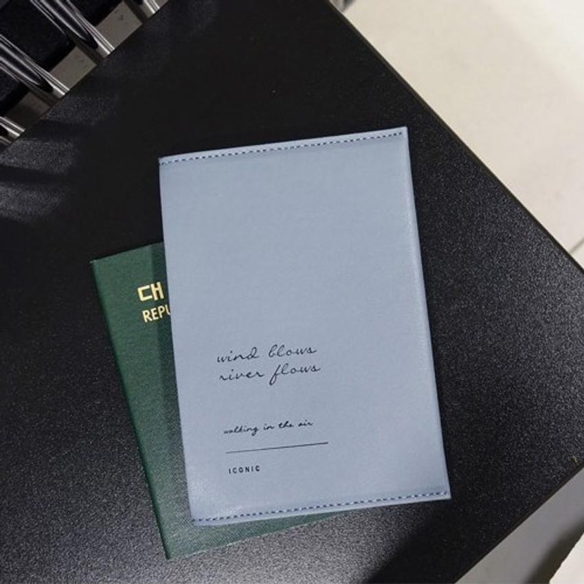 Iconic Slit passport cover case holder