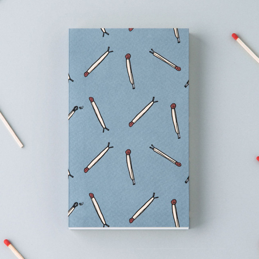 Matchstick - Jam Jam plain and lined pocket notebook