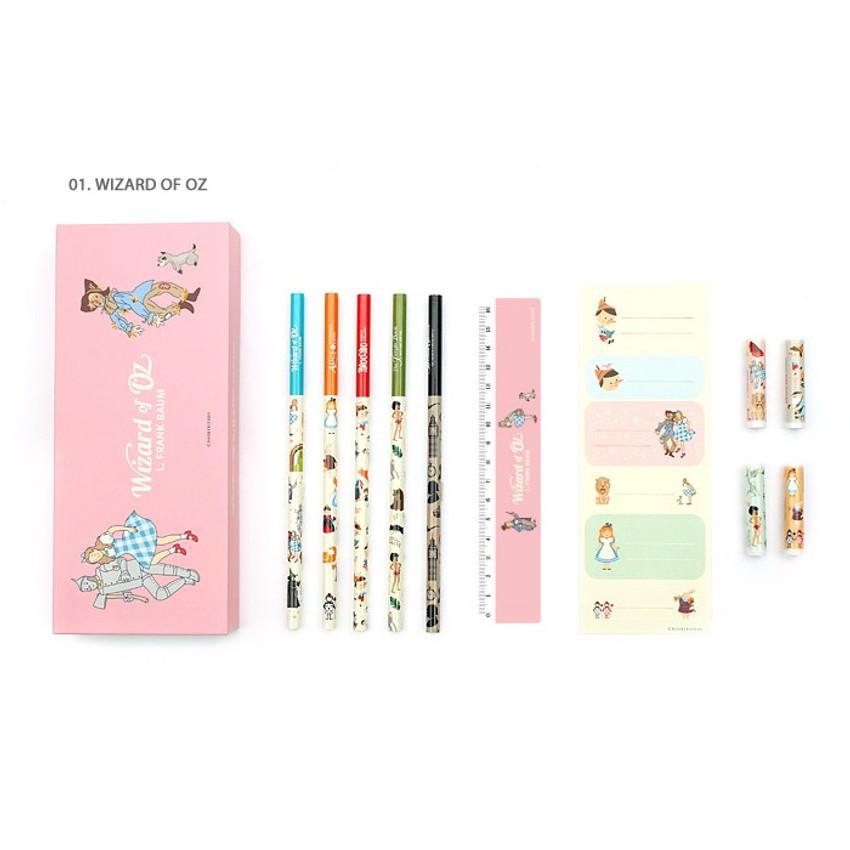 Wizard of OZ - World literature gift paper pencil case set