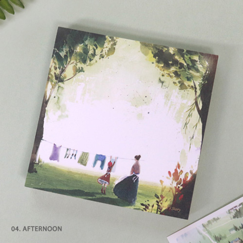 04. Afternoon - Indigo Classic story Ann memo notepad