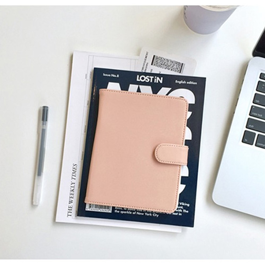 Pink - Seeso Double passport cover case holder