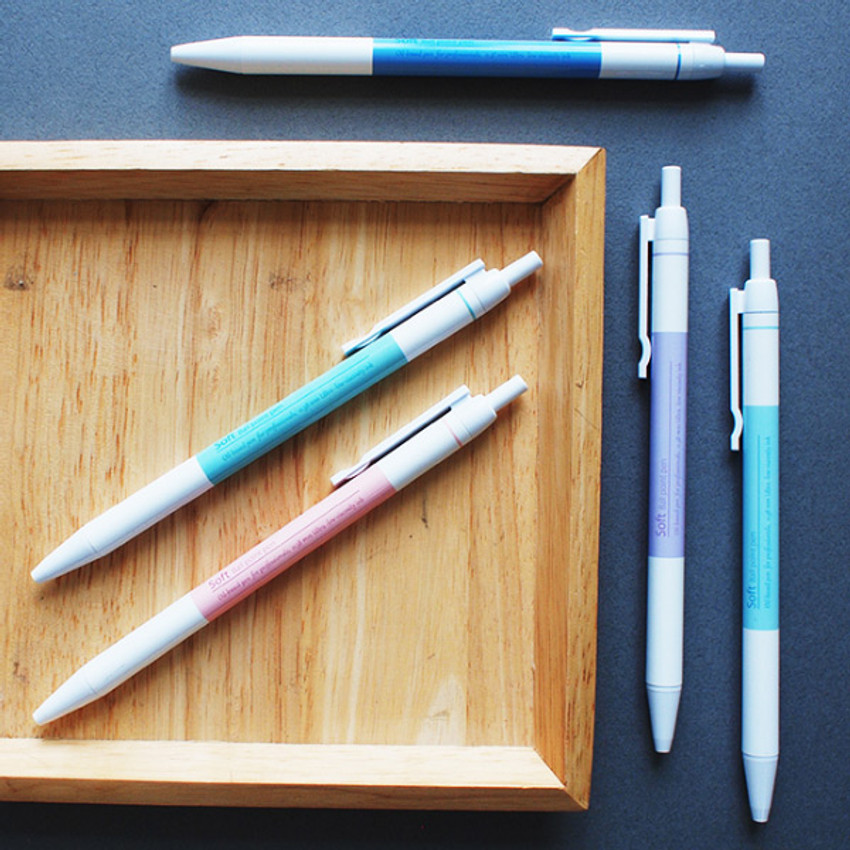 Hello Today Soft knock black ink 0.38 mm ballpoint pen