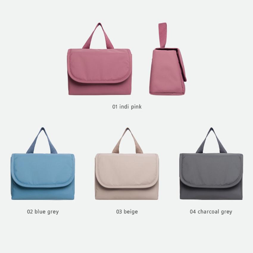 Color - Byfulldesign Travelus travel organizer handbag