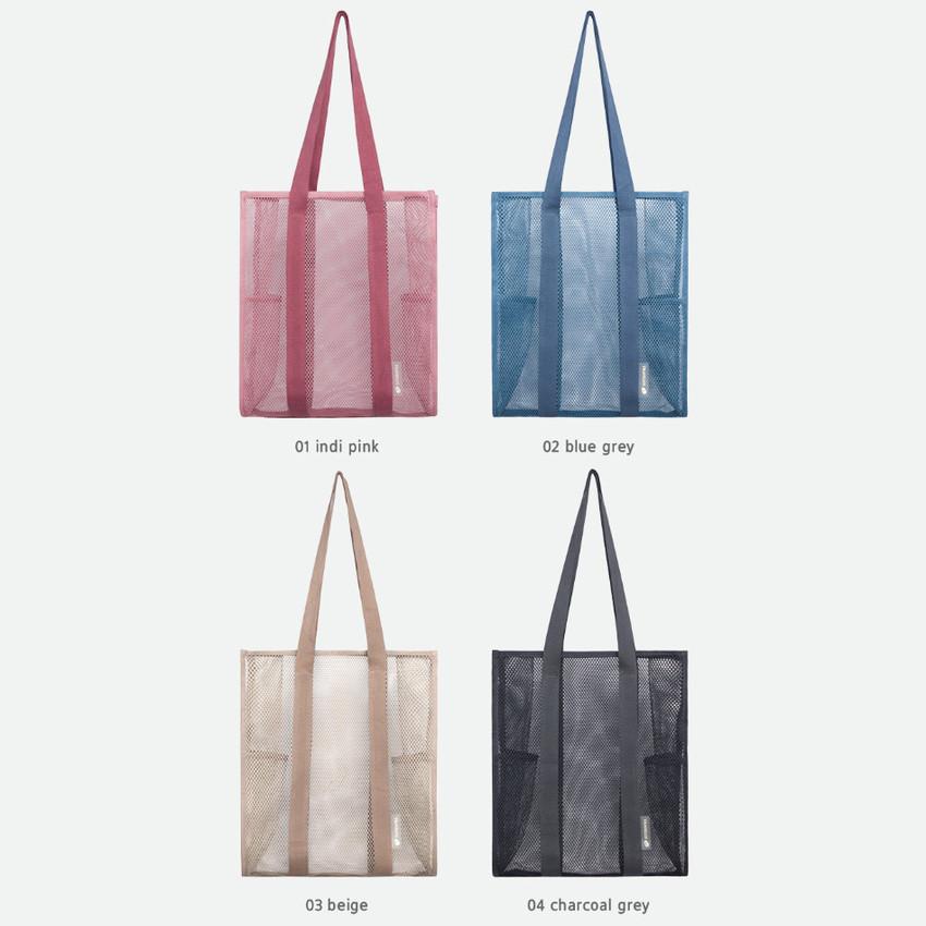 Color - Byfulldesign Travelus mesh shoulder tote travel bag