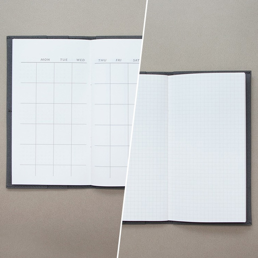 Detail of Ma boheme travel planner notebook