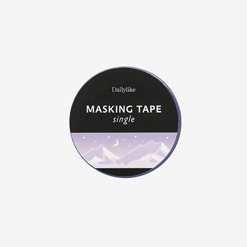 Package for Snow mountain single roll washi masking tape